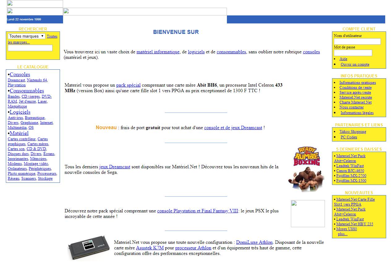 materiel-net 1999