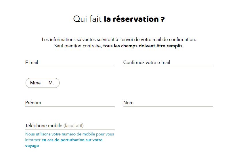 checkout ouisncf